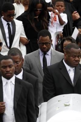 Kile Glover Laid to Rest in Atlanta This Morning