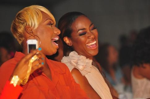 RHOA Kenya and Nene Laugh