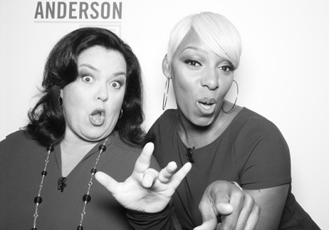 Nene Leakes Co-Hosts Anderson Live With Rosie O'Donnell
