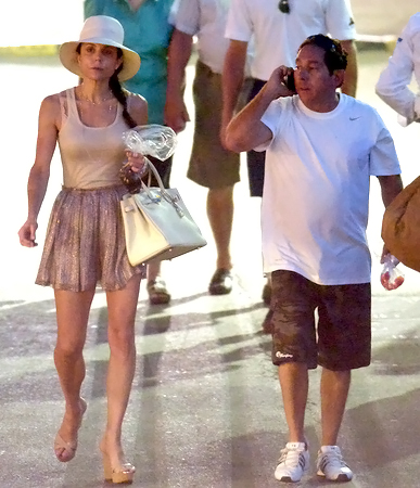 Bethenny Frankel & Warren Lichtenstein in Saint Tropez