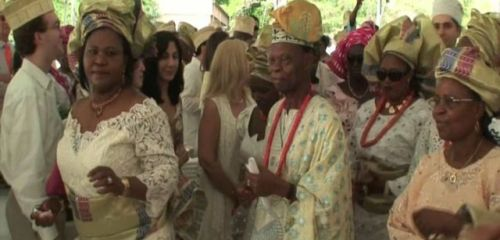 Okay, This is a Nigerian Princess Who Got Married on Long Island. Close enough.