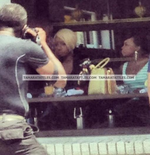 (Updated) What's Wrong With This Picture? Nene and Phaedra Filming Season 6 Version