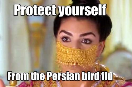 Shahs Persian Flu Mask