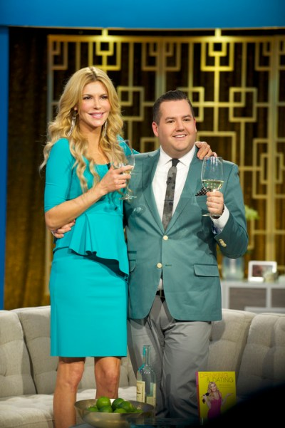 Brandi Glanville on Hello Ross