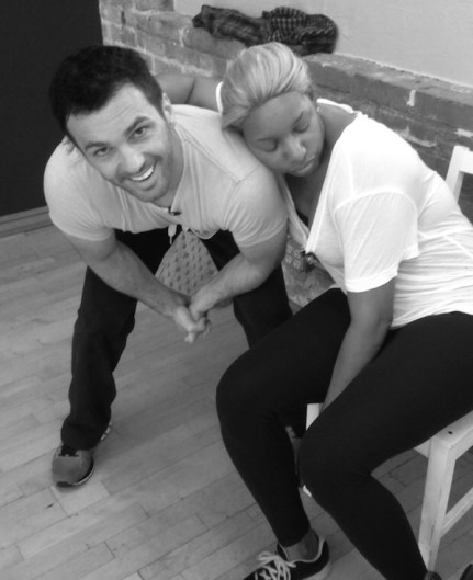 Nene Leakes Rehearses For The Jive For Monday's DWTS