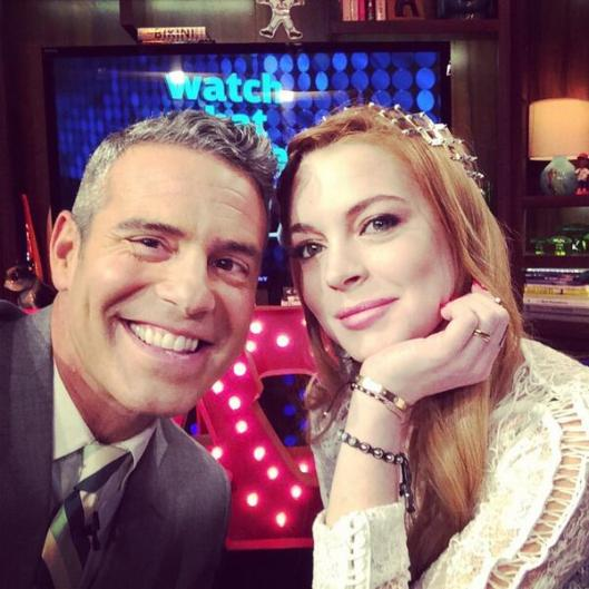 WWHL With Lindsay Lohan