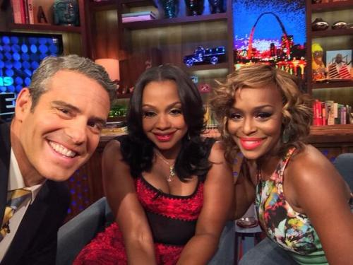 wwhl Phaedra and qUAD