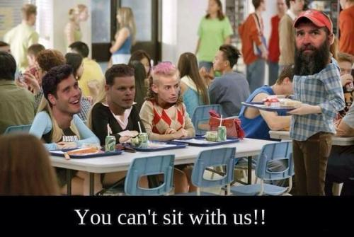 BB16 Can't sit with us