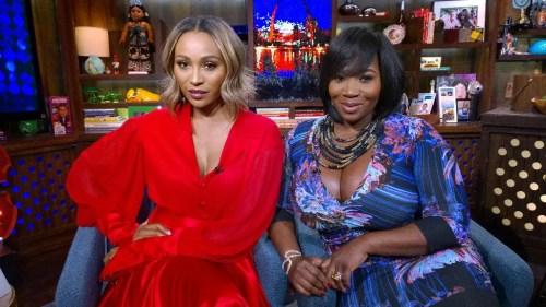 WWHL with Cynthia Bailey and Bevy Smith