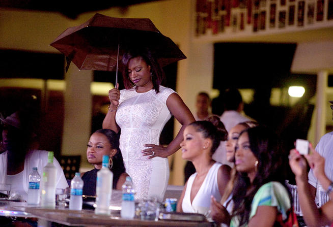 My days of holding your umbrella like you are Michael Jackson are over, bitch.
