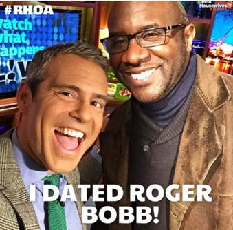 WWHL Andy and Roger Bobb.