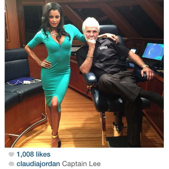 I have a feeling Captain Lee will like Claudia