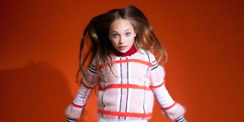 Maddie Ziegler in Elle Photo: Twitter