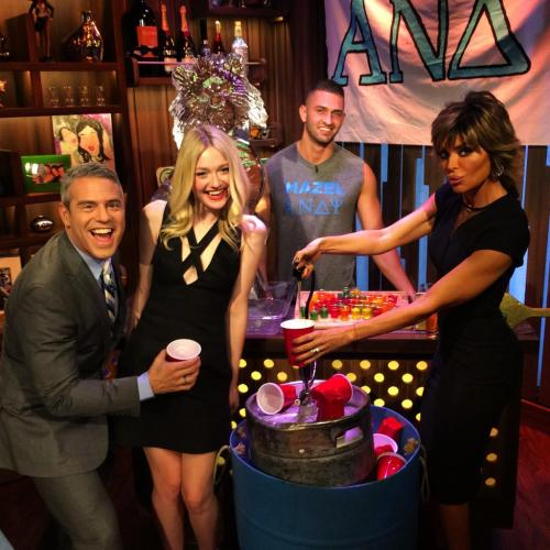 WWHL Lisa rinna after party