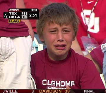 Do you want your boys to grow up to be Oklahoma fans?
