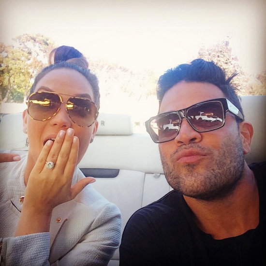 Shahs mike and jessica engaged.