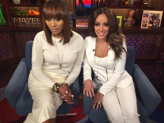 Watch What Happens Lives With Cynthia Bailey and Melissa Gorga