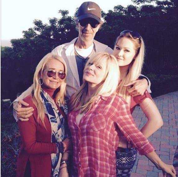 Kim, Terilynn and Monty and his daughter celebrate the 4th