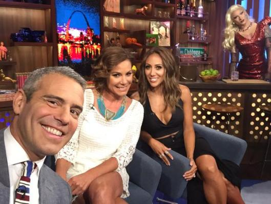WWHL With Melissa Gorga And Luann de Lesseps