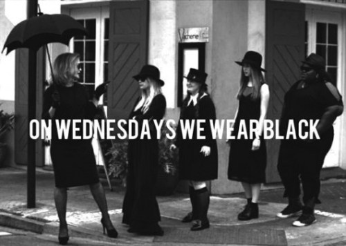 AHS Wednesdays black