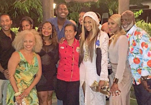 RHOA Have A Surprise Visitor on Their Jamaica Trip