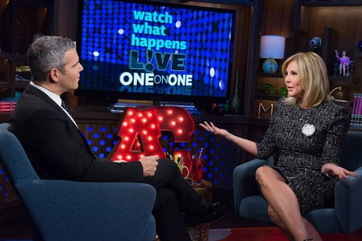 WWHL With Vicki Gunvalson: What Did She Know About Brooks Ayers Cancer?