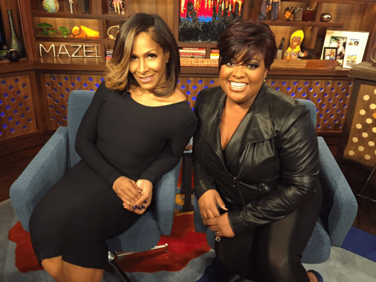 Sheree Whitfield and Sherri Shepherd on WWHL