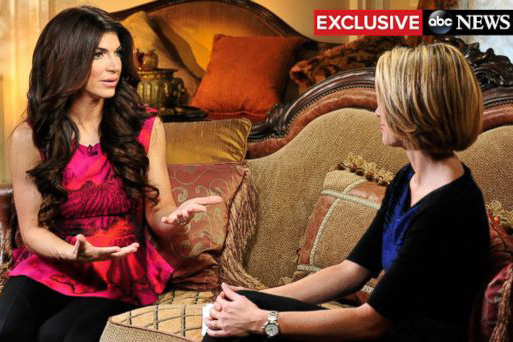 Teresa Giudice's First Interview After Prison Release on GMA