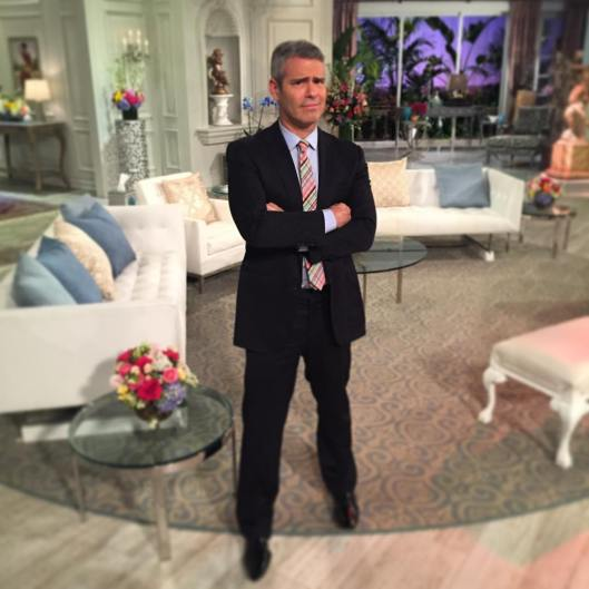 Andy Unhappy About How Long RHOBH Reunion Went On