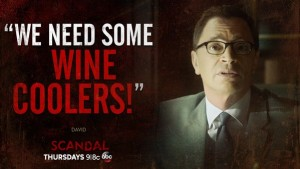 Scandal david wine coolers