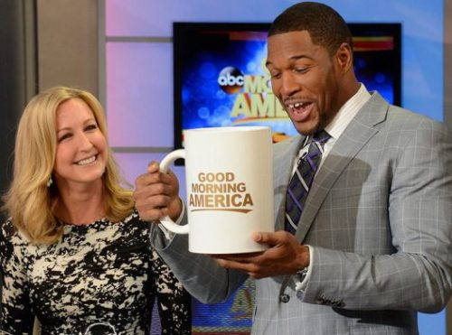 kelly and michael GMA bigger cup