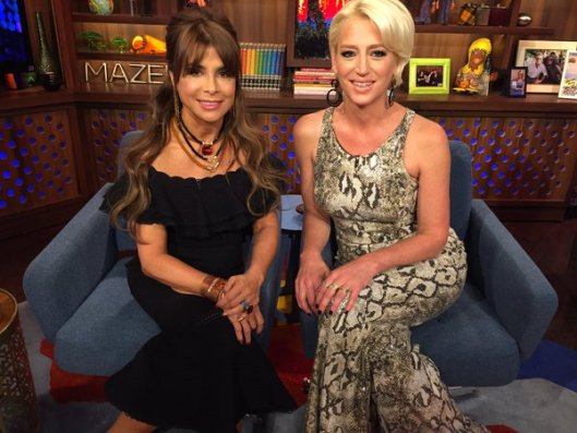 WWHL With Dorinda Medley and Paula Abdul