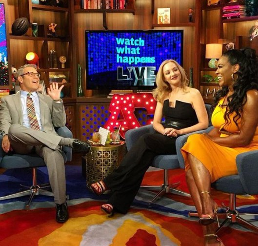 WWHL With Kenya Moore and Wendi McLendon-Covey!