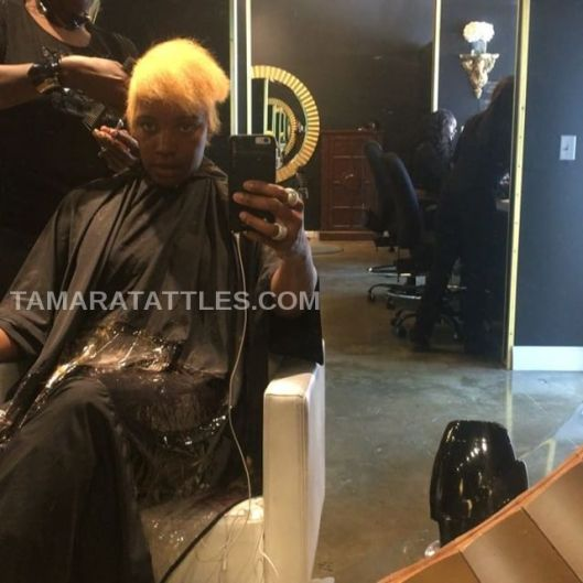 Nene Leakes Gets A Hair Cut!