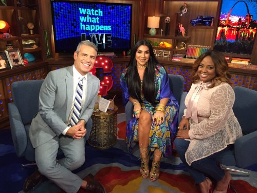 WWHL Asa Soltan and Sherri Shepherd