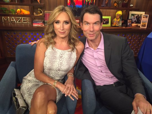 Sonja Morgan & Jerry O'Connell  on WWHL