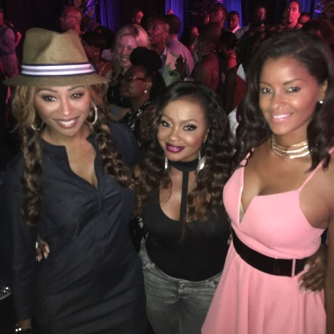 Cynthia, Phaedra and Claudia At Essence Festival