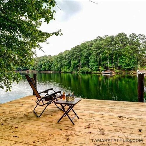 RHOA Cynthia's lake house
