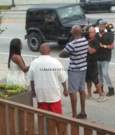 RHOA Kenya and Matt Filming