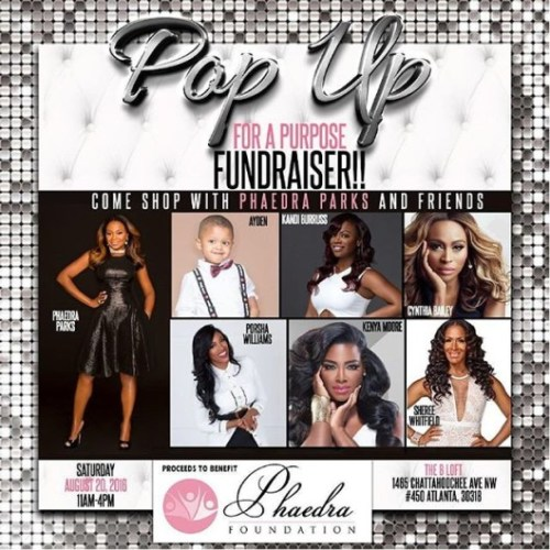 RHOA Phaedra fake Charity