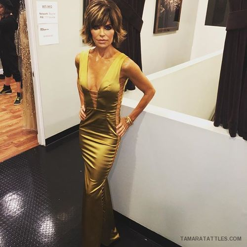 RHOBH LiSA rINNA INTRO DRESS