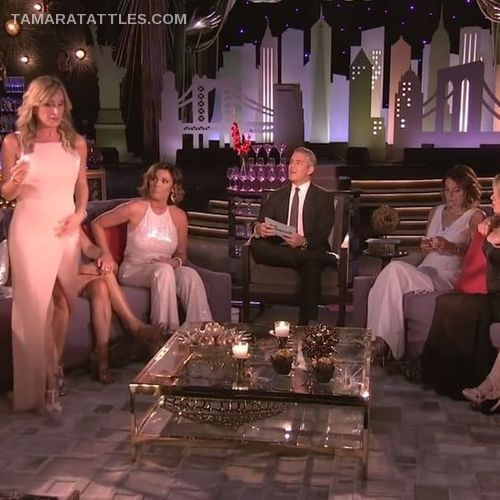 RHONY Sonja walks out of Reunion