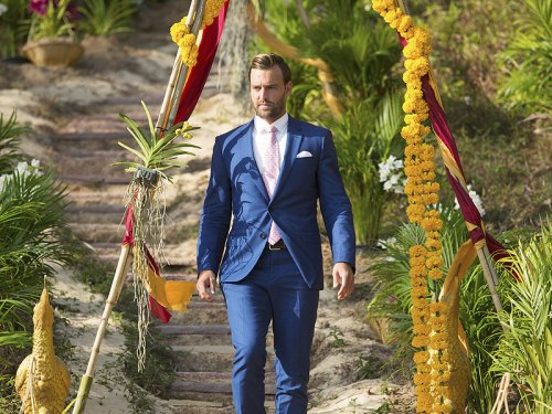 "THE BACHELORETTE - ""Episode 1210"" - Season Finale - JoJo survived being blindsided last season after Ben Higgins told her he loved her, but proposed to Lauren Bushnell instead. As heart-wrenching a rejection as that was, she decided to take a risk for a second chance at finding love with one of 26 intriguing bachelors. After surviving shocking twists and turns and a journey filled with laughter, tears, love and controversy, JoJo narrowed down the field to two men – Jordan and Robby. Now, she finds herself in love with both of these captivating men and terribly torn between them. She can envision a future with both bachelors, but time is running out, on the Season Finale of ""The Bachelorette,"" airing MONDAY, AUGUST 1 (8:00-10:00 p.m., ET), on the ABC Television Network. (ABC/Matt Klitscher) ROBBY"