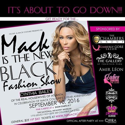 Kim Fields At Mack Is The New Black Fashion Show