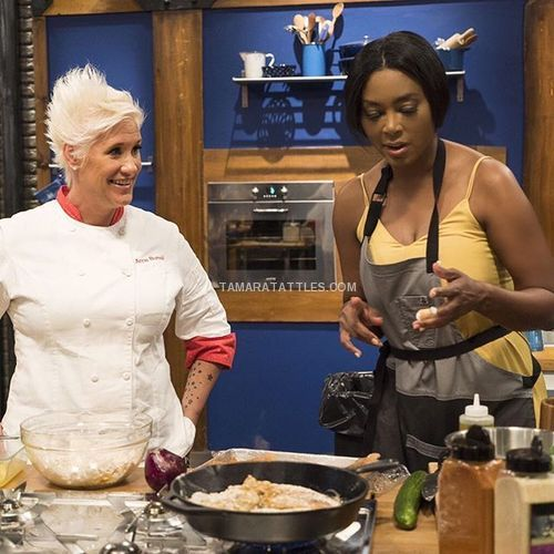 Kenya Moore Flames Out On Worst Cooks In America