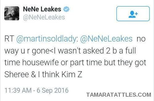 Nene Leakes Is Salty About Not Having A Contract For RHOA Season 9