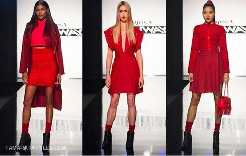 Project Runway: Seeing Red