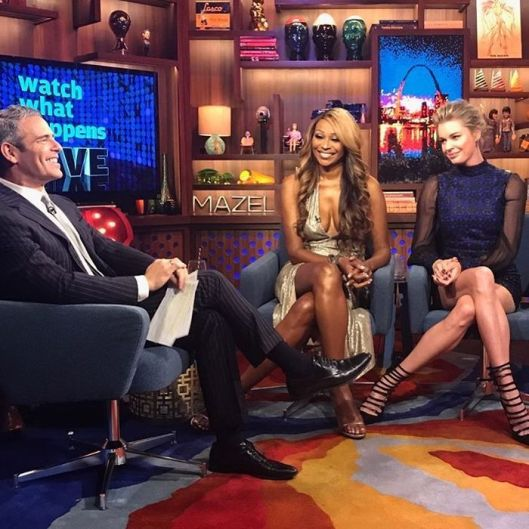 WWHL With Cynthia Bailey and Rebecca Romijn
