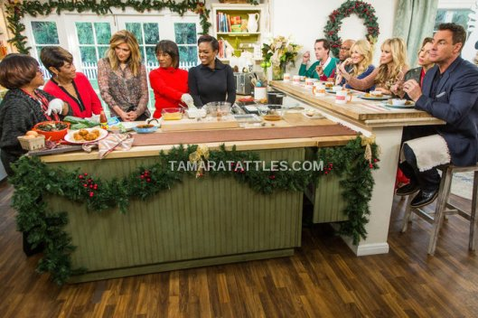 Kandi Burruss And The Old Lady Gang On Hallmark's Home & Family