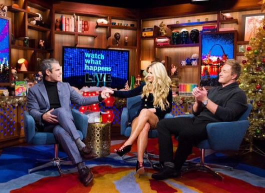 Kim and Kroy Biermann on WWHL